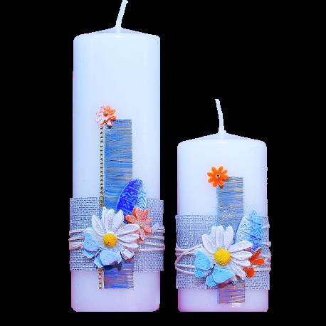 Veľkonočné sviečky Set April Duo 2 ks.