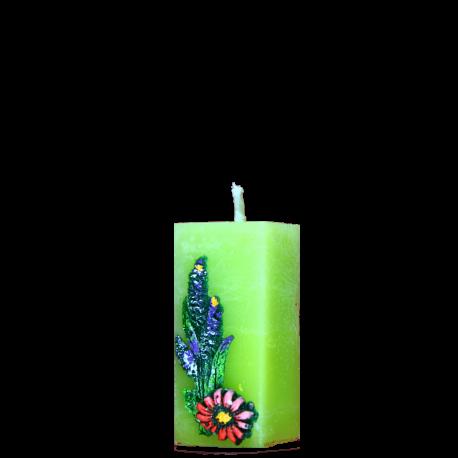 Veľkonočná sviečka Kvádrik zo setu Spring Decoration