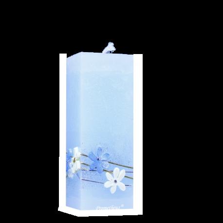 VEľkonočná Sviečka Kvádrik White Daisies