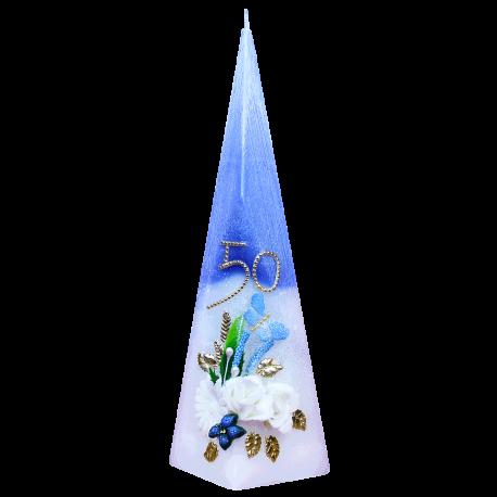 Narodeninová sviečka Pyramída