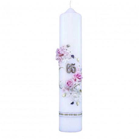 Jubilejná sviečka darček ku 70. narodeninám