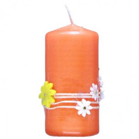 Orange candles
