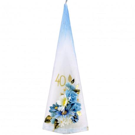 Narodeninová sviečka Pyramída, Vek voliteľný
