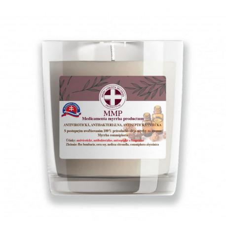 MMP antibakteriálna sójová sviečka - medovka