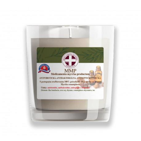 MMP antibakteriálna sójová sviečka - tymian