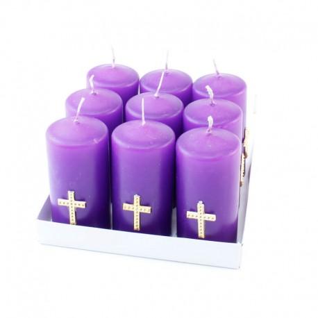 Set 4ks náhrobných sviečok