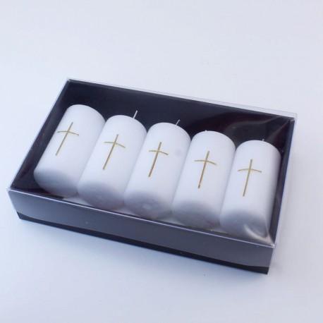 Set 6 ks. Náhrobných sviečok