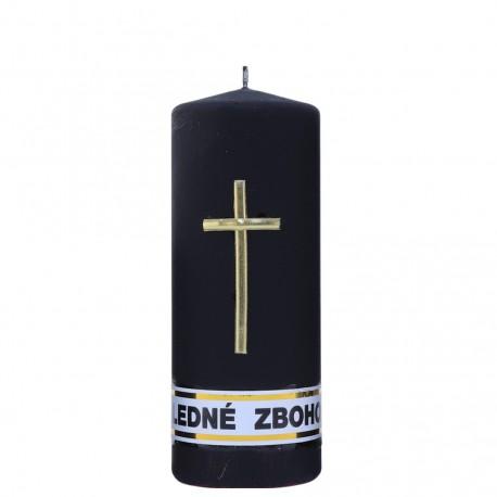 Smútočná sviečka Valec 318g