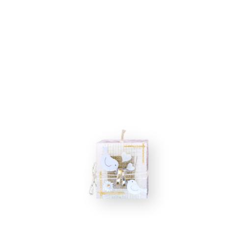 Sviečka svadobná Kváder 375g so setu S4 E