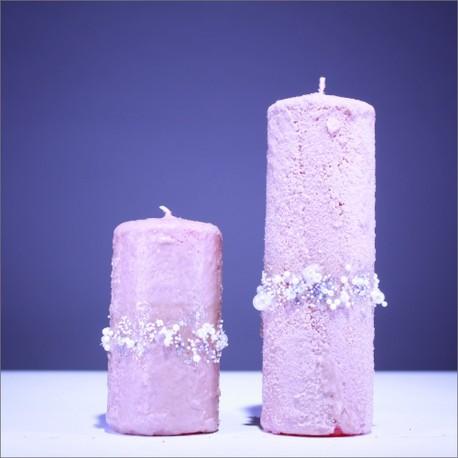 Sviečky z parafínu - béžová