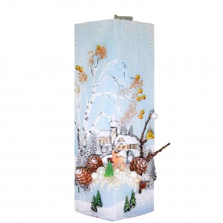 Vianočná sviečka Kváder 1120 g