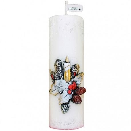 Vianočná sviečka Valec 250g - Šiška sviečka