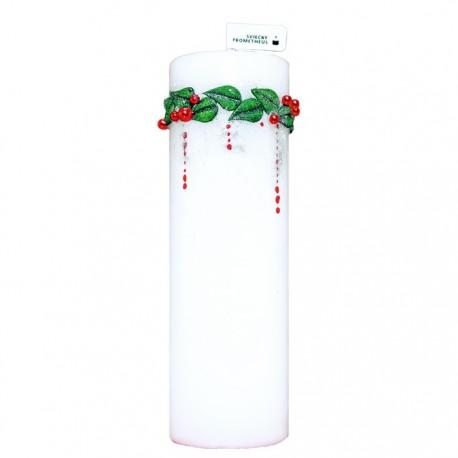 Vianočná sviečka Valec 250g - LUX