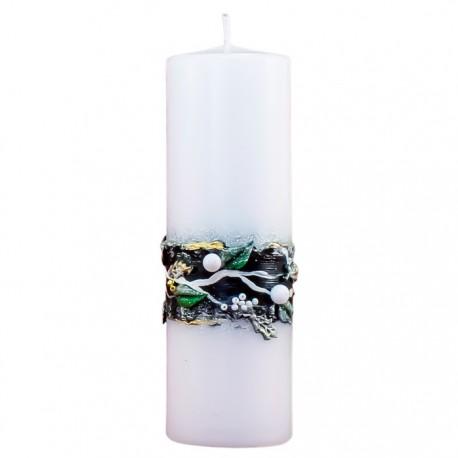 Vianočná sviečka Valec 250g - Edícia Lux