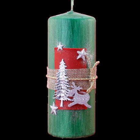 Vianočná sviečka Valec 50/150 zo setu White Provensall